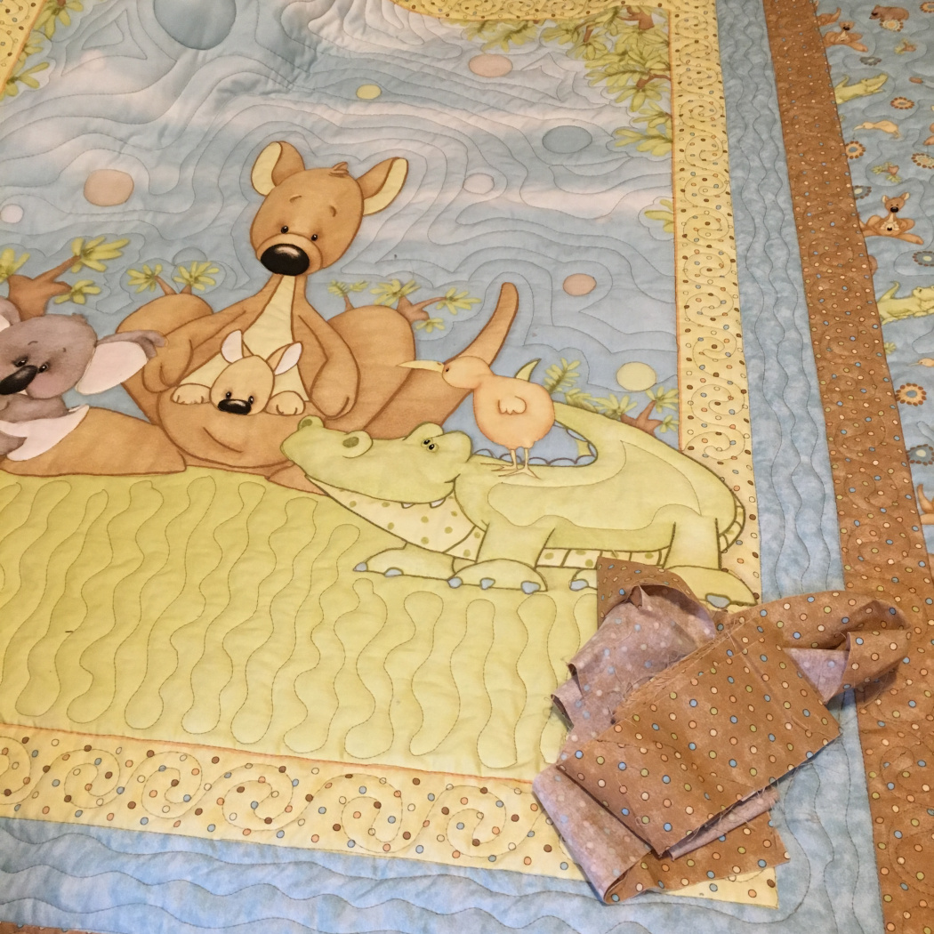 Gail baby quilt with minky 1.jpg