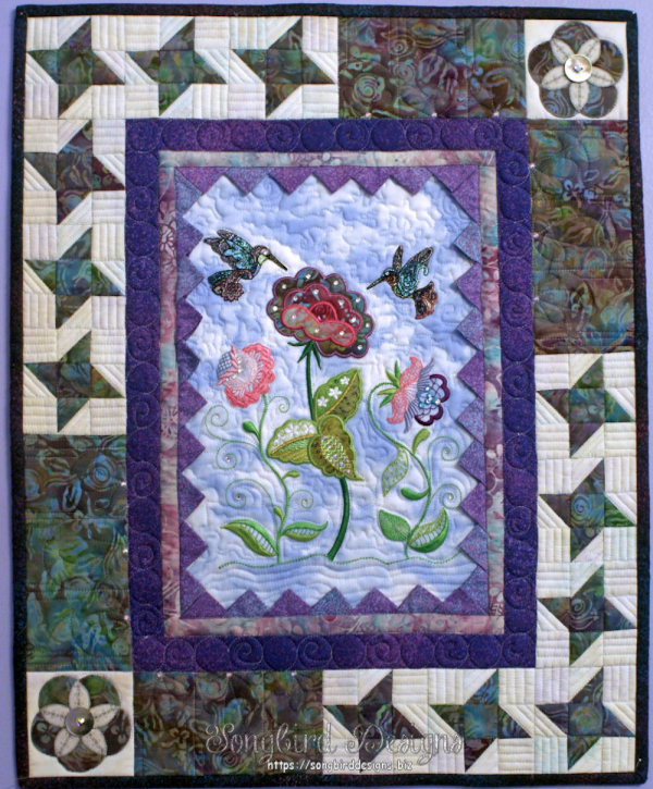 Brenda quilts exchanged with a friend for the miniature quilt exchange for Houston show.jpg