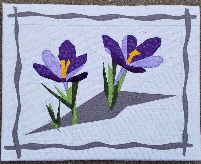 Lisa Marie Crocus quilt.JPG