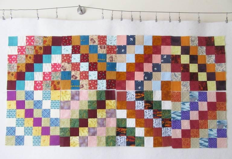 Allison Trip-Around-the-World-Blocks-eight-on-design-wall-by-Allison-Reid.jpg