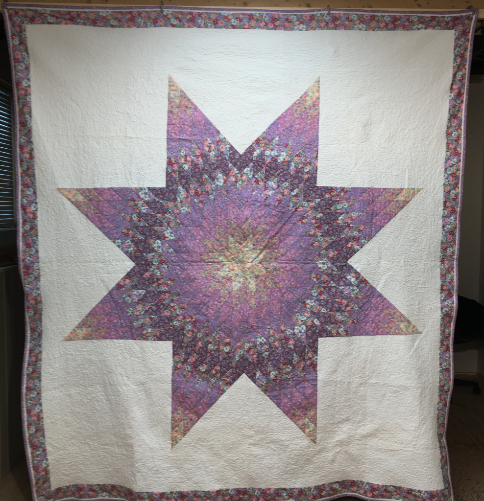 Gail Lone Star quilt finished by her started by Jan.jpg