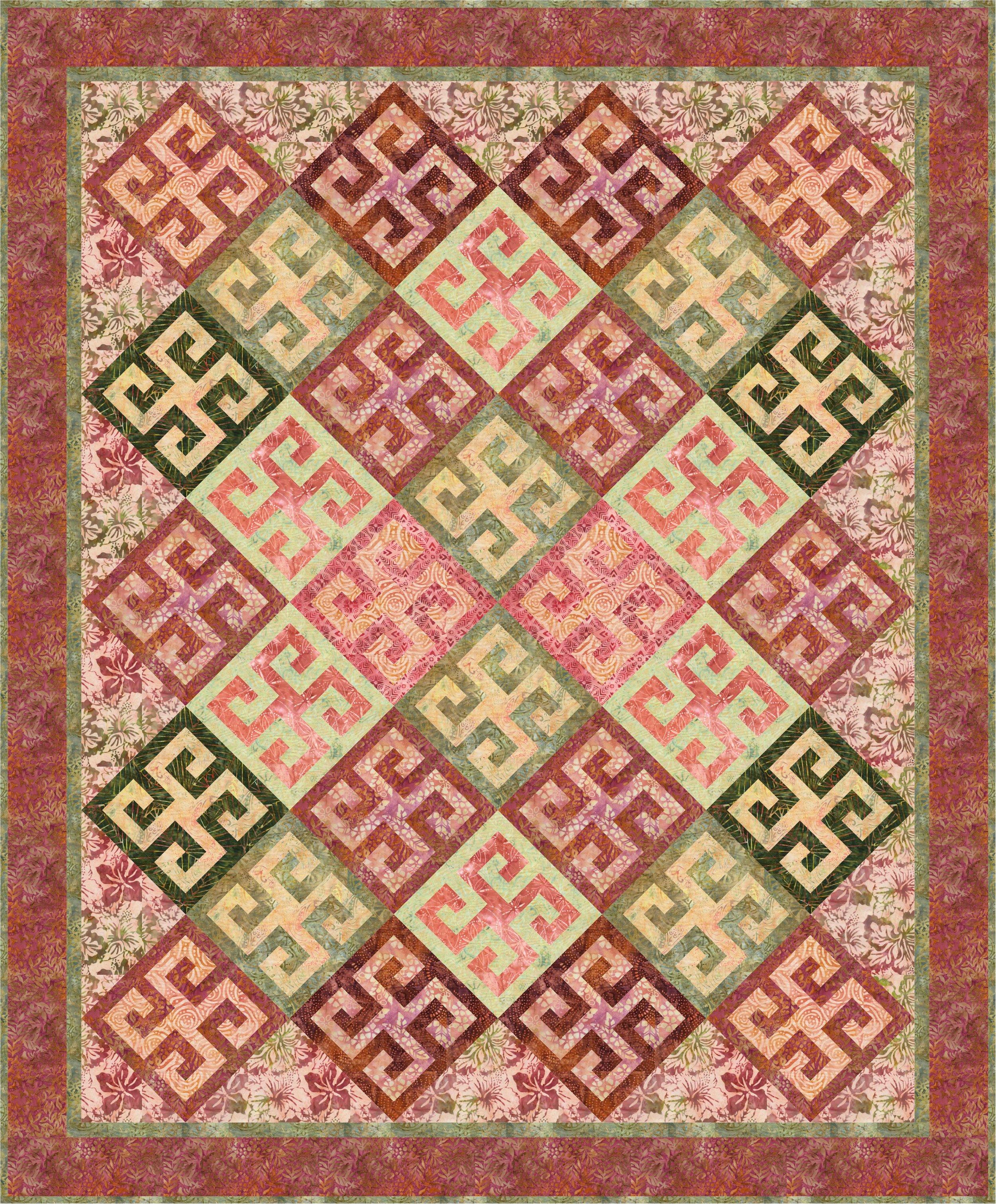 Tonga Posey-Jennifer Fulton - Greek Mosaic 67x81.JPG