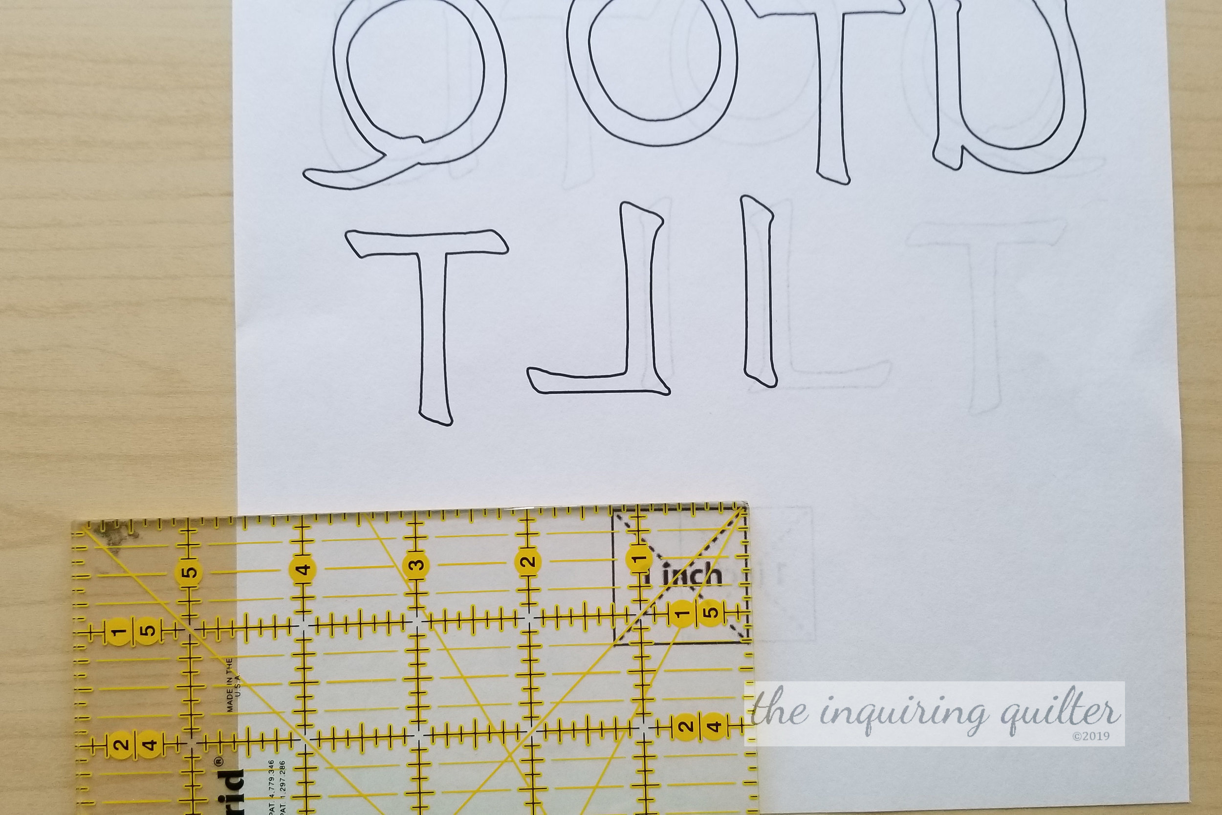 Making I Love to Quilt block 9.jpg