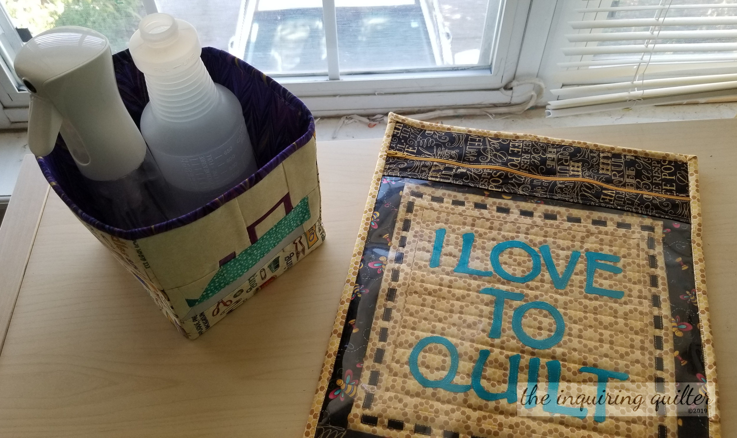 Segment 2 Project Ideas: Fabric Box and Vinyl Project Bag