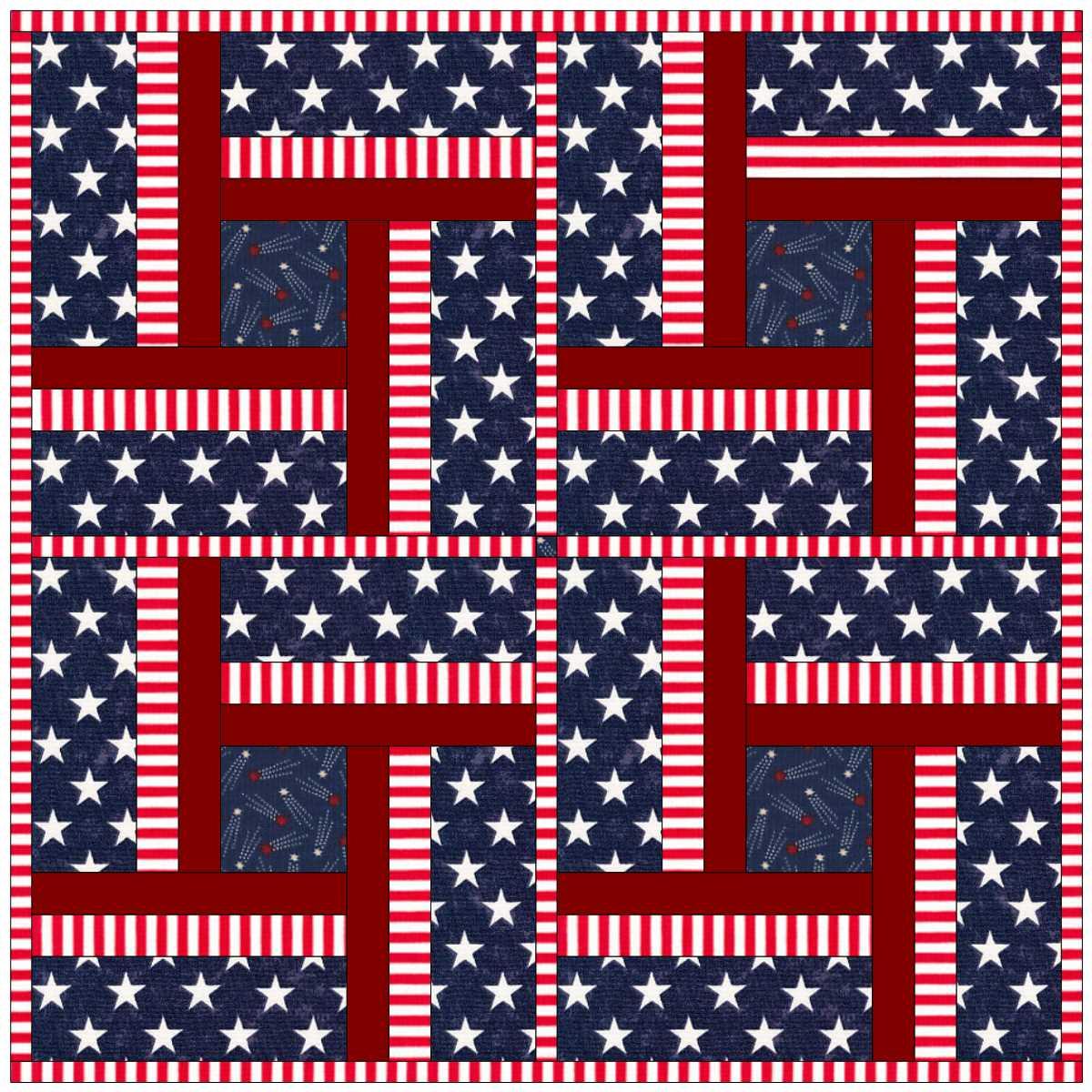 Patriotic Peppermint Twist. 4.JPG