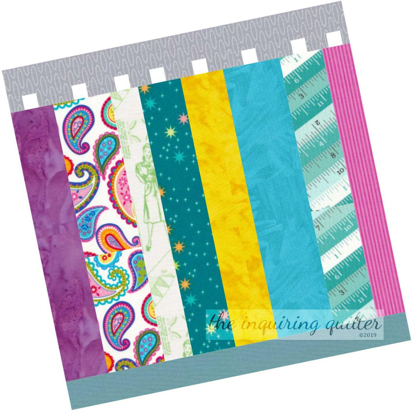 Block 11 Bolts of Fabric tilted.jpg