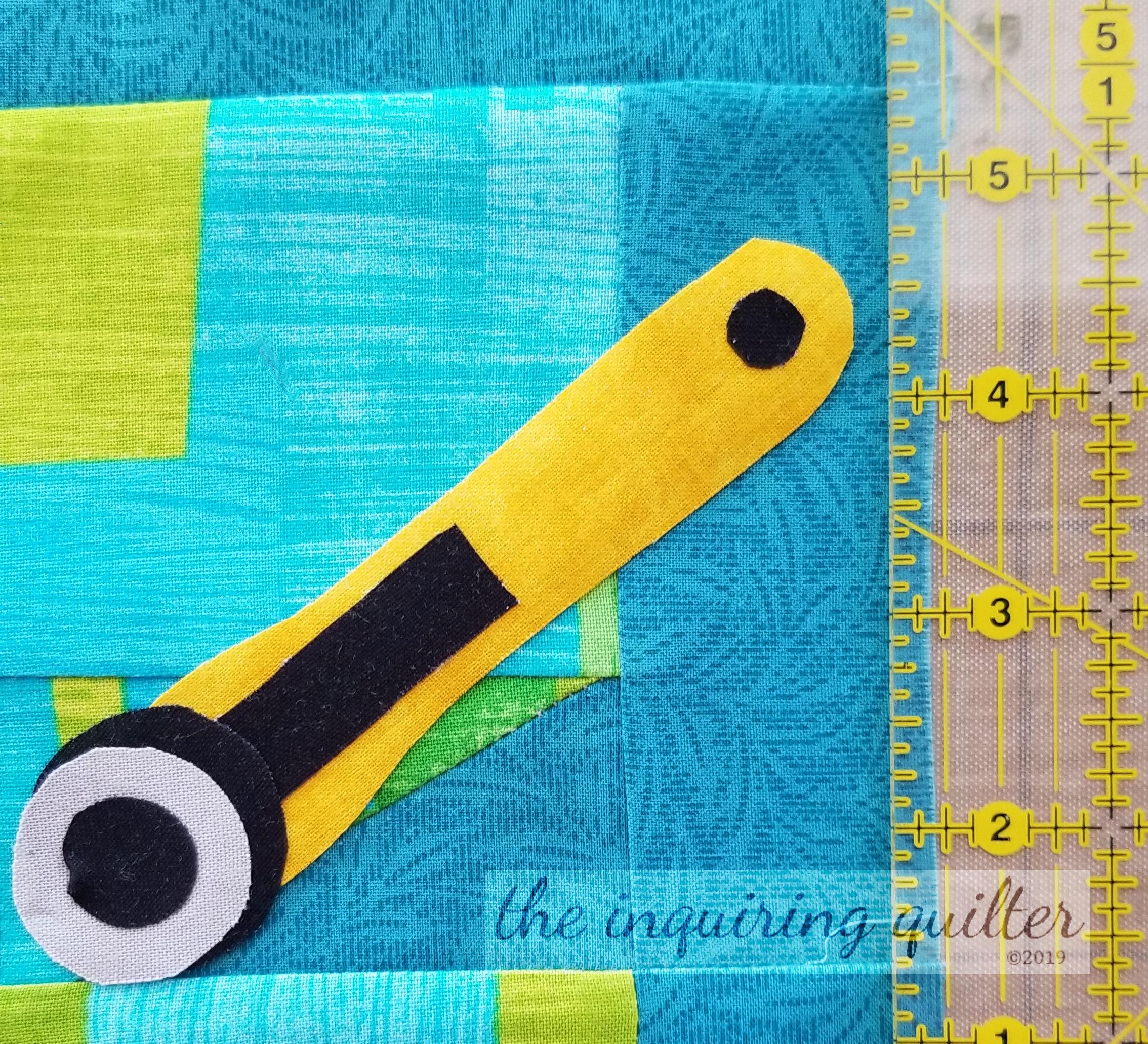 Block 12 - Rotary Cutter