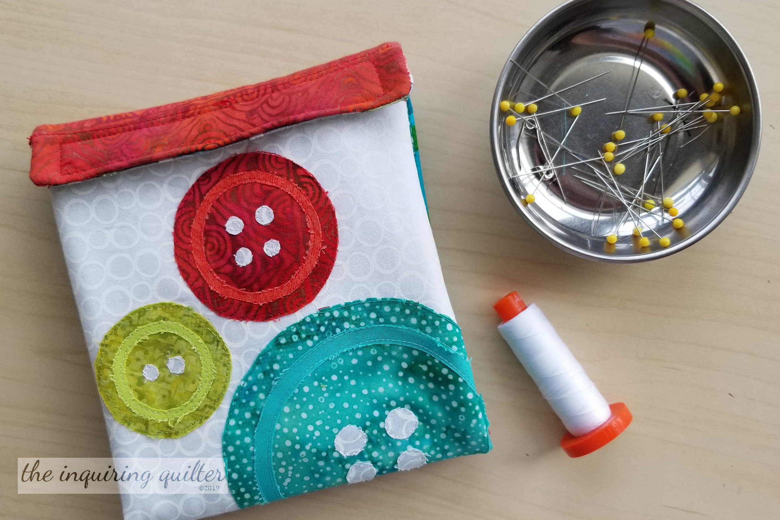 Segment 3 Project Idea: Zippered Sewing Caddy