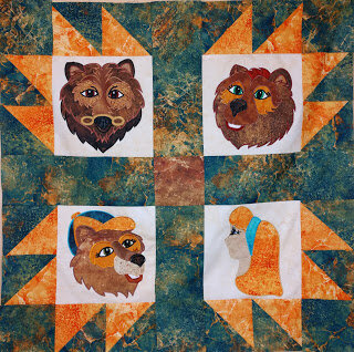 Goldilocks and the Three Bears by Linda @ Linda B Creative