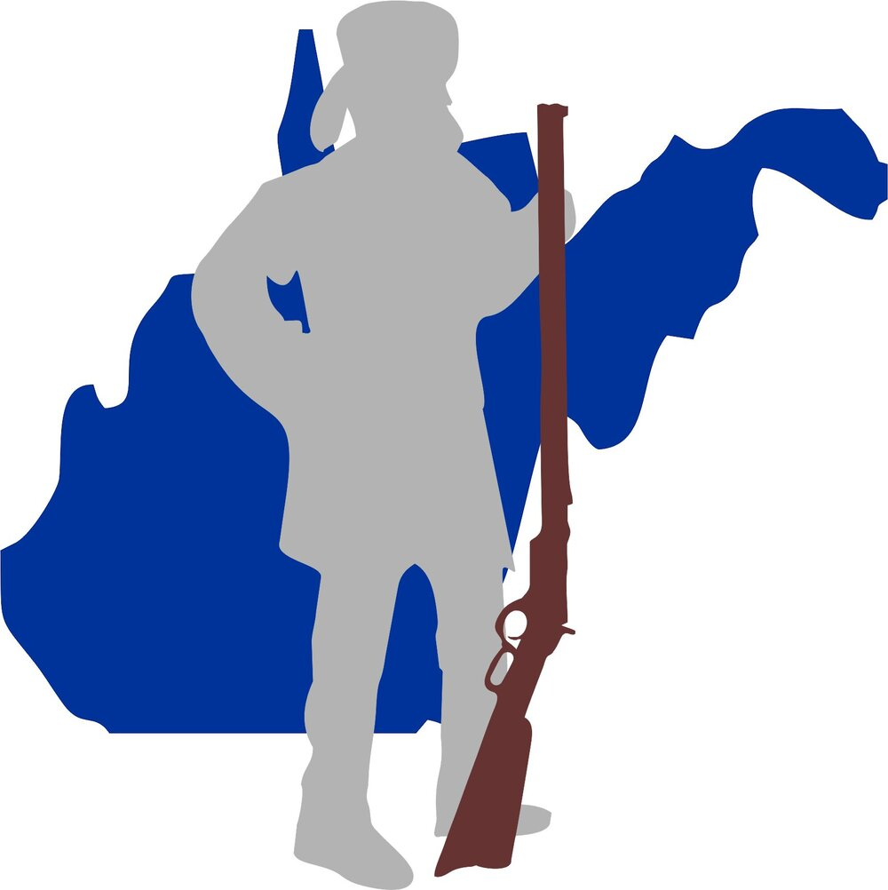 West Virginia Mountaineer state mountain man and his rifle.jpg