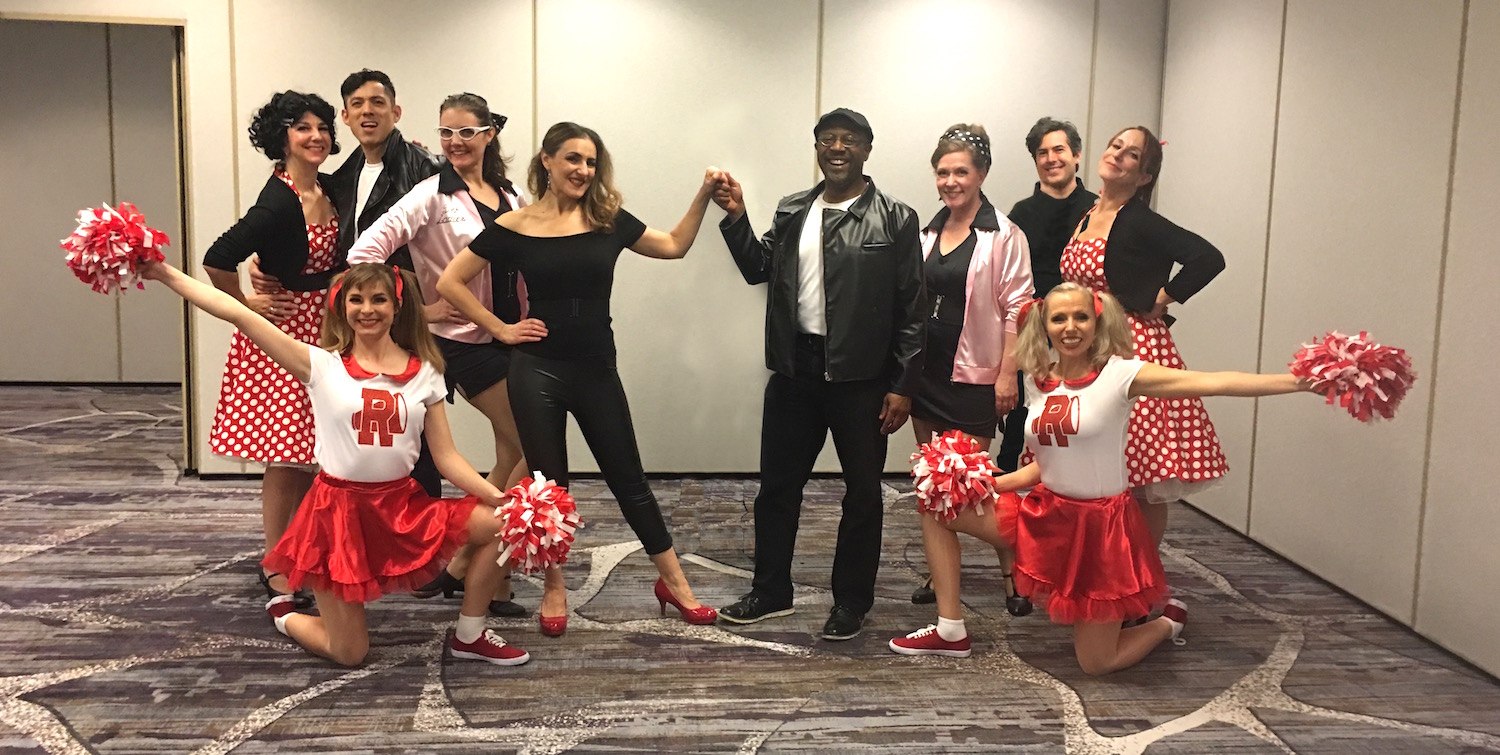 Curated Entertainment, Heather Rogers, Velia Amarasingham, Grease Cast 2.26.2019.jpg