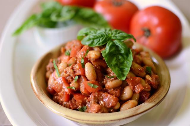 Cannellini Bean Salad with Sun-Dried Tomato Pesto - ButterYum