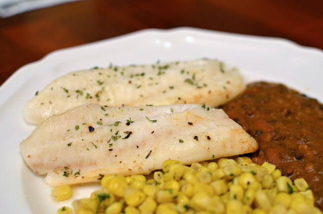 Oven Baked Tilapia with Butter, Lemon, and Chervil - ButterYum