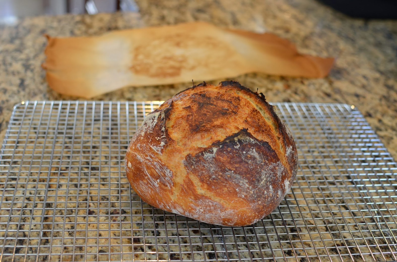 slow rise, no knead bread recipe with how-to photos - ButterYu