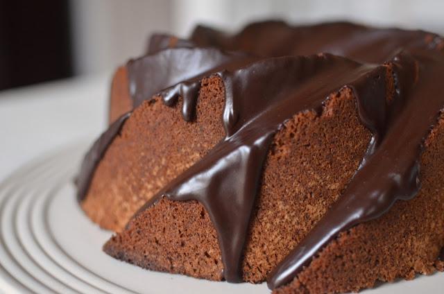 Biscoff Bundt Cake with Espresso ganache - ButterYum — biscoff cake recipe. biscoff recipes. I like big bundts recipes. food librarian bundt cake recipe. espresso ganache recipe. bundt cake with espresso ganache. how to use biscoff in a recipe. biscoff dessert recipes.