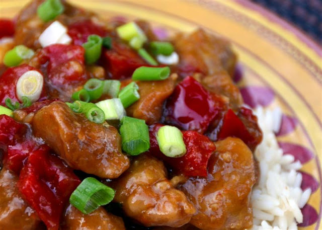 Light Orange Chicken - ButterYum. how to cook with chicken thighs. recipes that use chicken thighs. asian chicken recipes. takeout chicken recipe. easy takeout chicken recipes. how to make orange chicken at home. a light version of orange chicken. no fry orange chicken recipe. lower carb orange chicken recipe. how to make your own orange chicken at home.