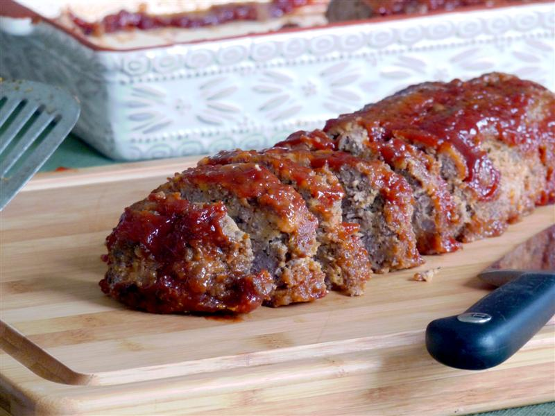 Grandpa Mark's Pretty Darn Good Meatloaf - ButterYum. Family Favorite meatloaf recipe. how to make meatloaf. all beef meatloaf recipe.