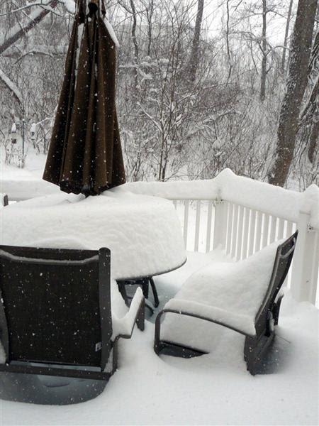 December 19, 2009 Snow Storm Virginia ButterYum