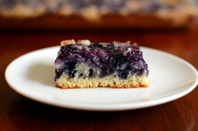 Blueberry Kuchen - ButterYum