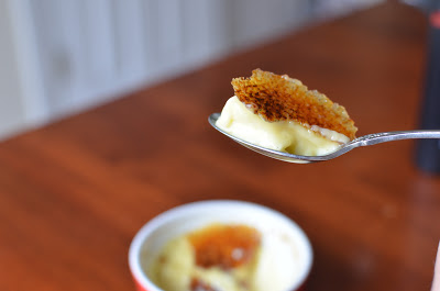 recipe for the creamiest, crunchiest creme brulee at home. how to make creme brulee at home.
