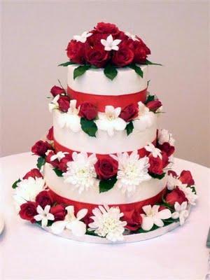 ButterYum Deep Chocolate Passion Wedding Cake
