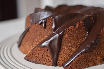 Biscoff Bundt Cake with Espresso Ganache