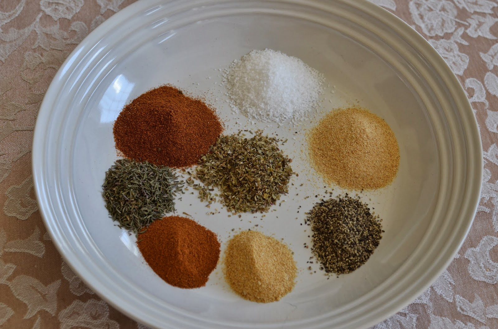Emeril's spice mix for round steaks - recipe with lots of how to photos.