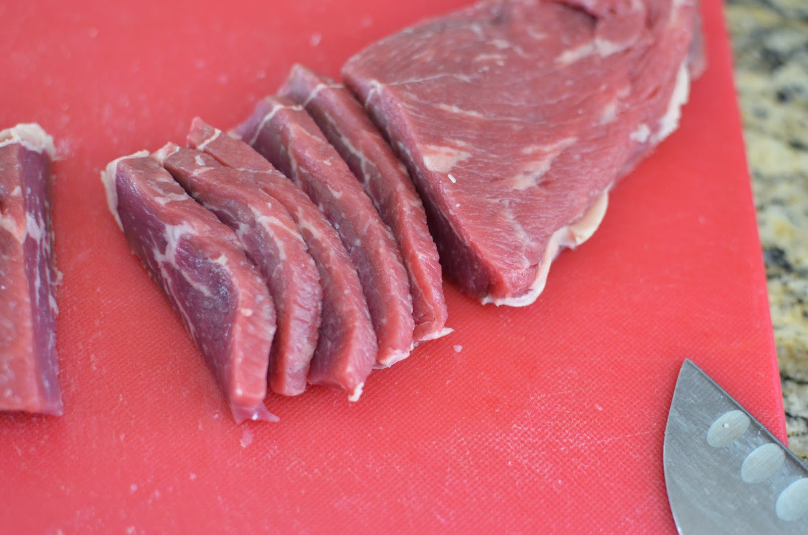 How to make Emeril's round steak with lots of how to photos