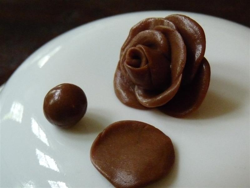 How to make a chocolate candy rose by ButterYum