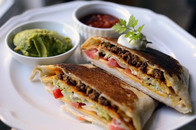 Copycat Taco Bell Crunch Wrap Supreme - ButterYum. How to make taco bell's crunch wrap supreme at home