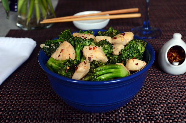 Chicken and Broccoli - ButterYum.  How to make Chinese chicken and broccoli at home.  How to make chicken and broccoli take out at home.  chicken and broccoli from scratch.