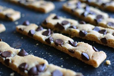 Chocolate Chip Cookie Sticks - ButterYum