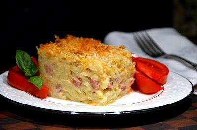 Ham and Cauliflower Macaroni and Cheese