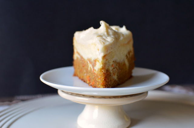 Carrot Cake Cheesecake - ButterYum.  Carrot cake cheesecake recipe.  carrot cheesecake recipe.