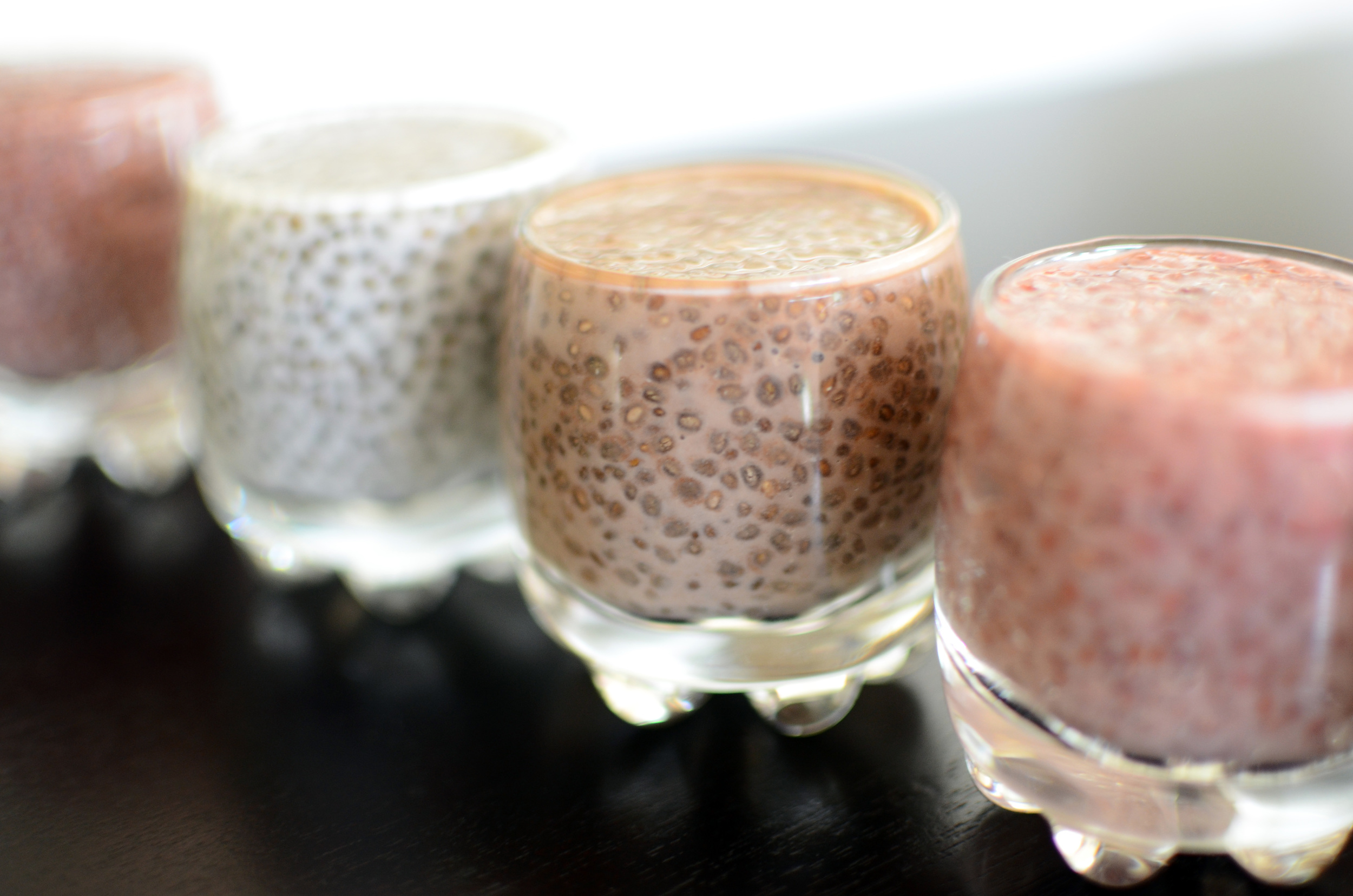 Chia Seed Pudding Shooters