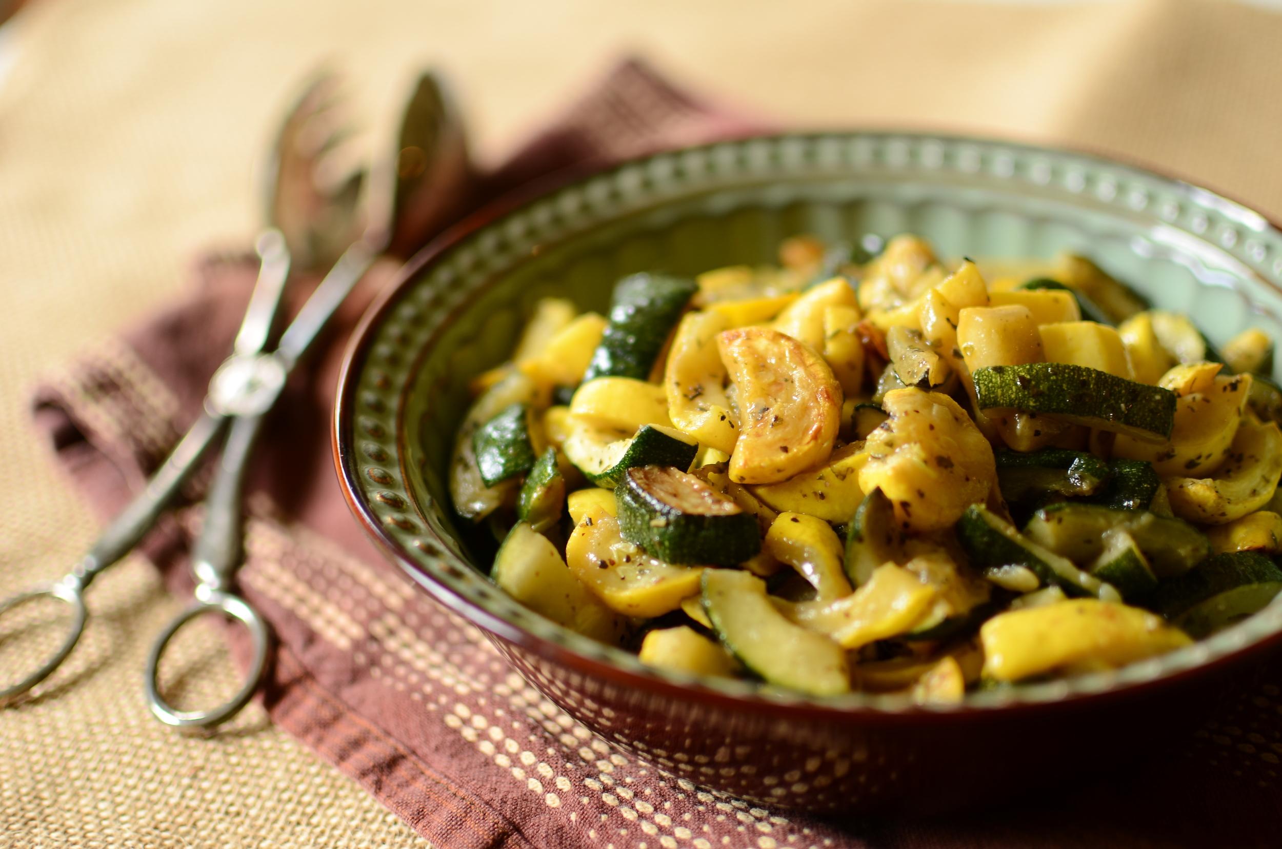 Sauteed Zucchini and Summer Squash - ButterYum