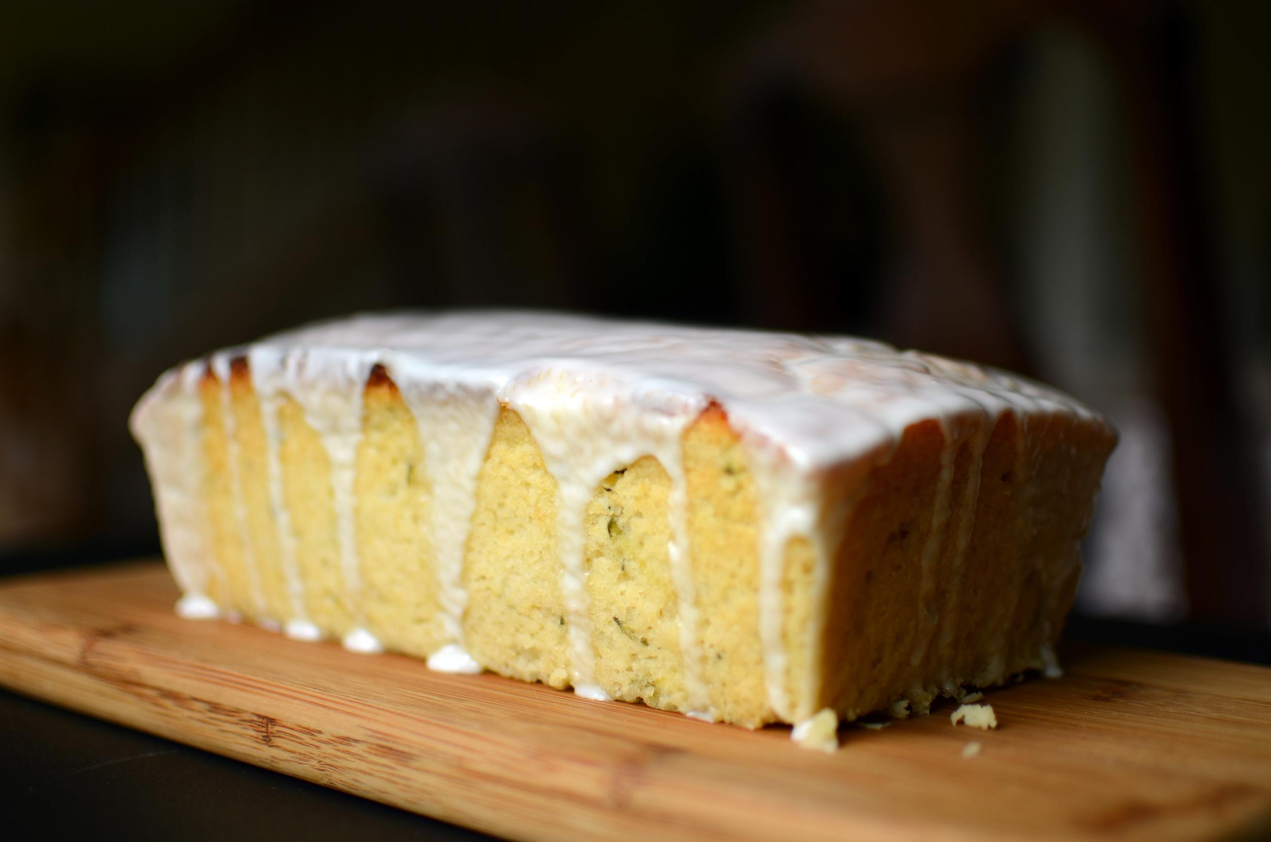 Glazed Lemon Zucchini Bread - ButterYum