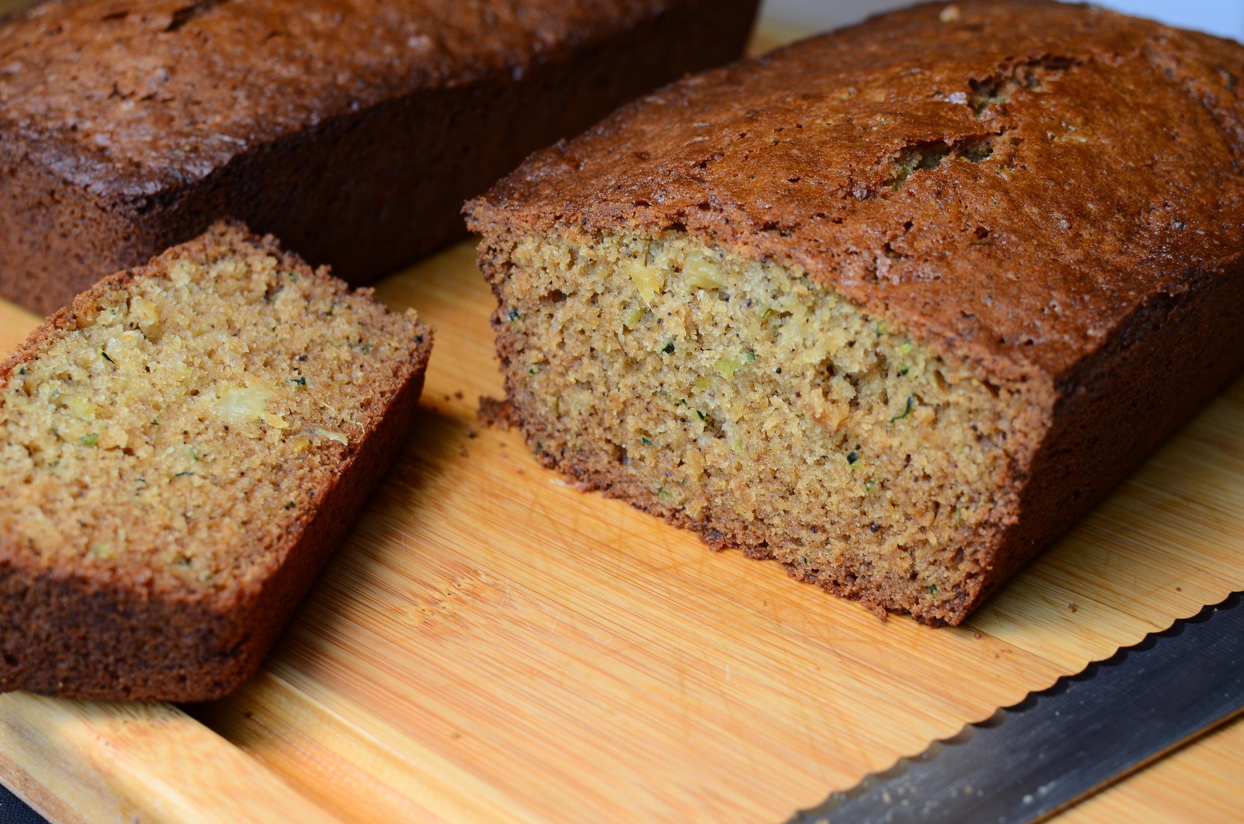 Cardamom Coffee Zucchini Bread - ButterYum