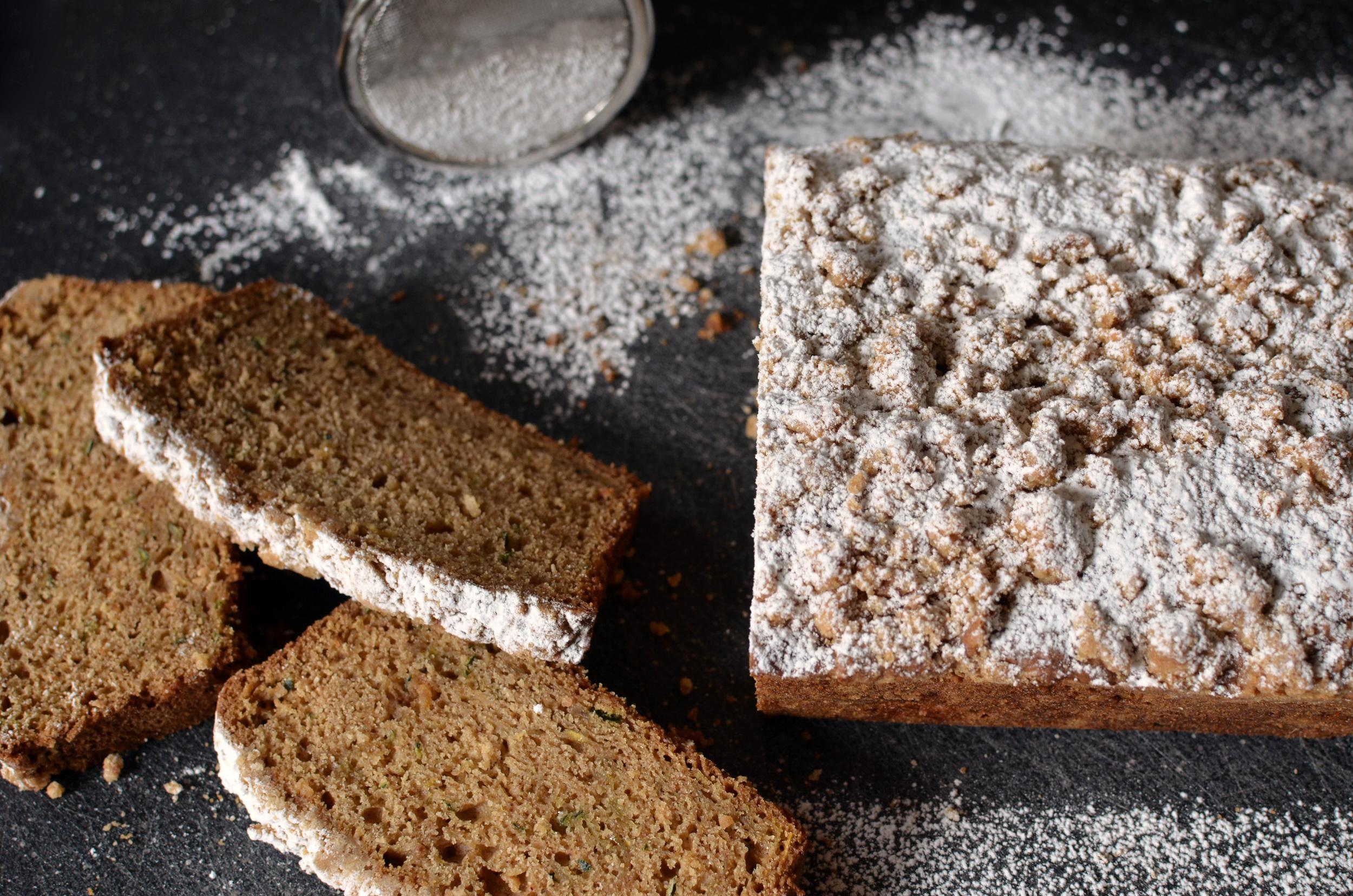 Coconut Zucchini Bread - ButterYum