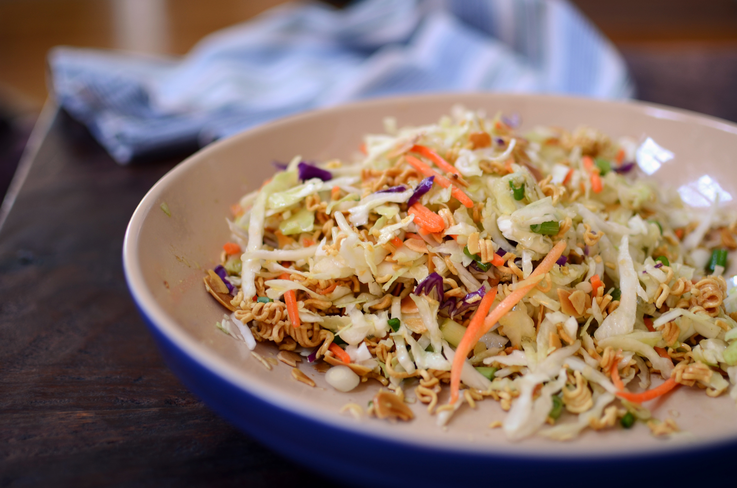 Asian Cabbage Salad - ButterYum