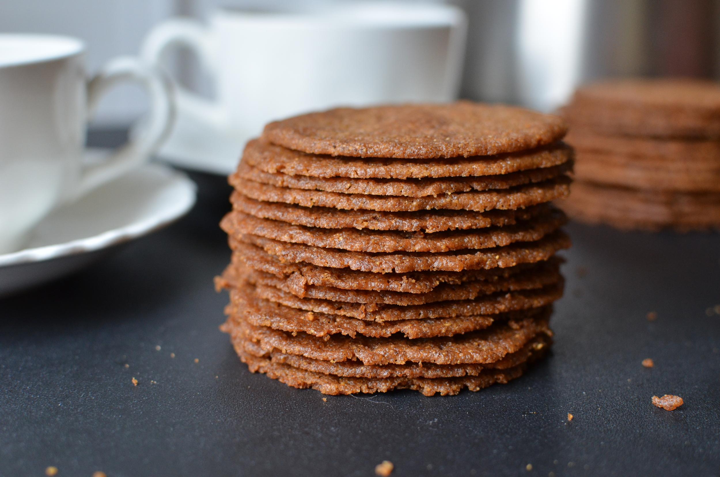 Coffee Almond Crisps - ButterYum