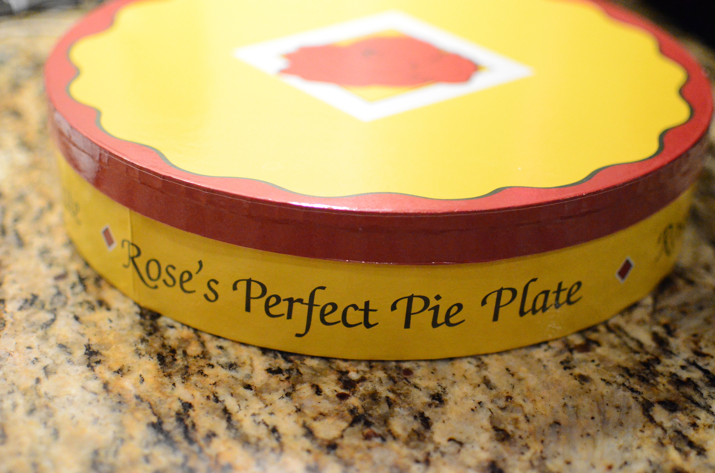 I got  Rose's Perfect Pie Plate  for Christmas and couldn't wait to use it.
