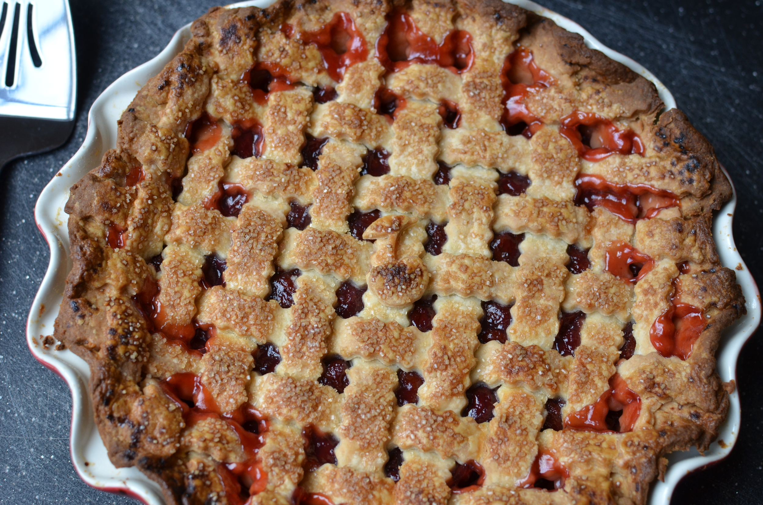 Sour Cherry Pie (Pi Day) - ButterYum
