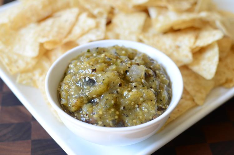 Charred Tomatillo Salsa