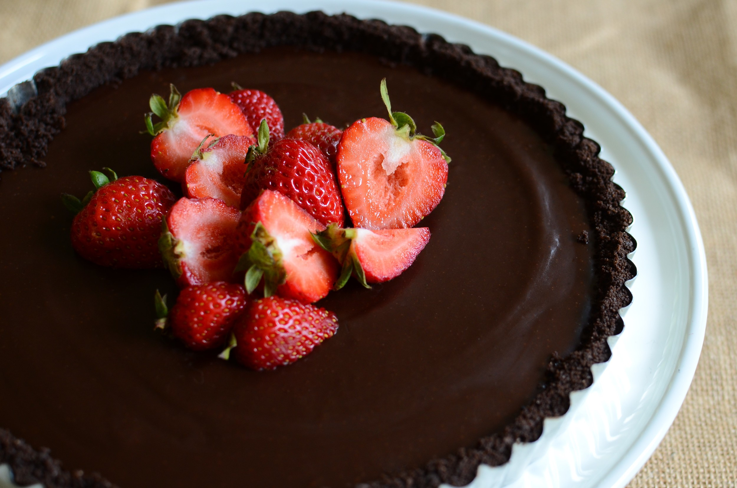 Decadent Chocolate Tart - ButterYum