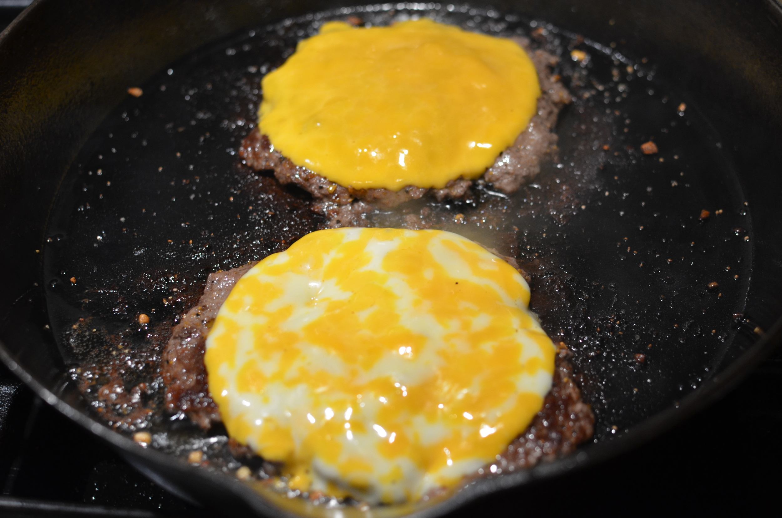 how to make burgers in a pan w/PHOTOS