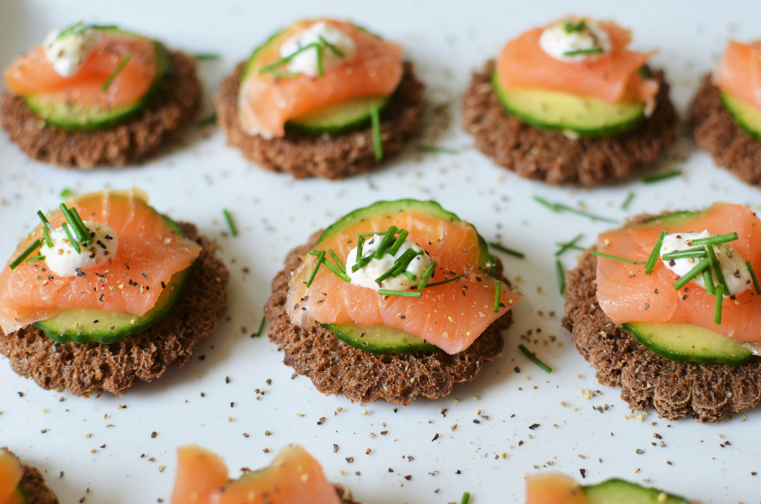 An easy and delicious Smoked Salmon Appetizer Recipe w/PHOTOS