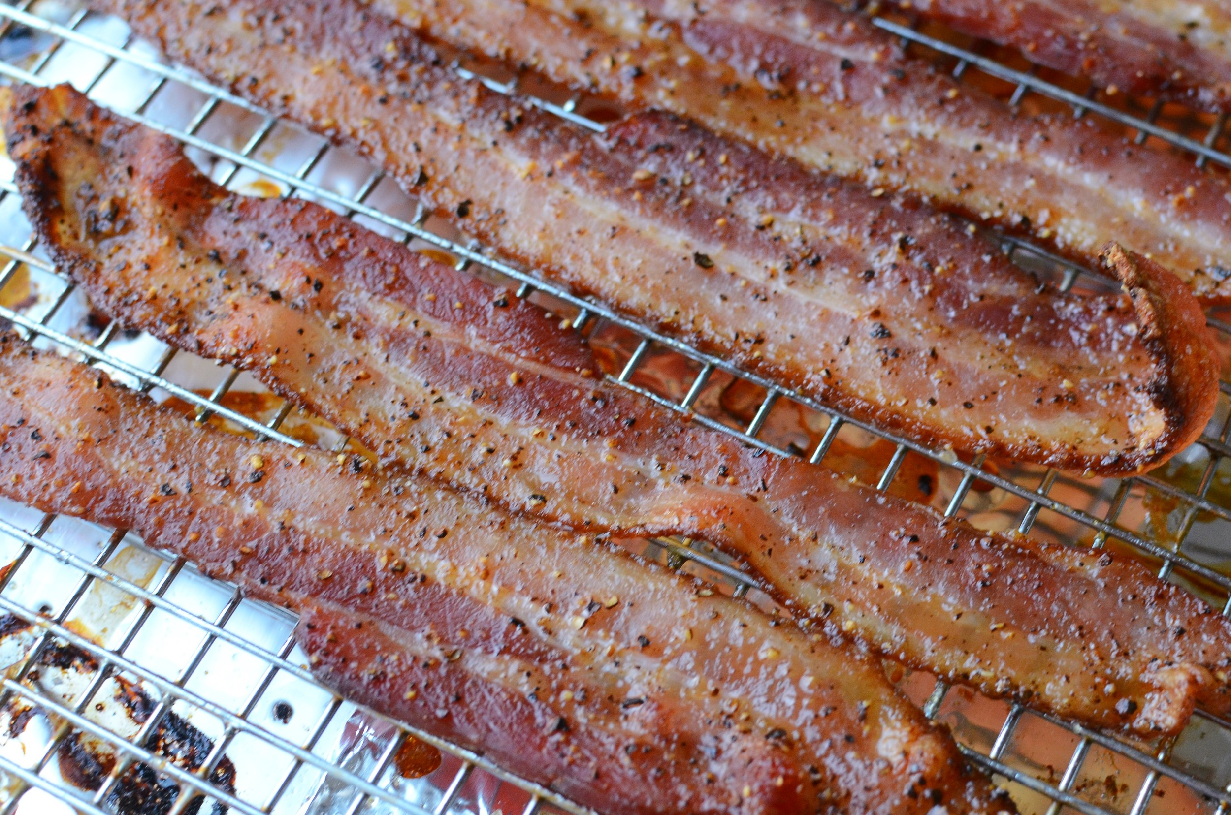 Sweet and Spicy Glazed Bacon - ButterYum