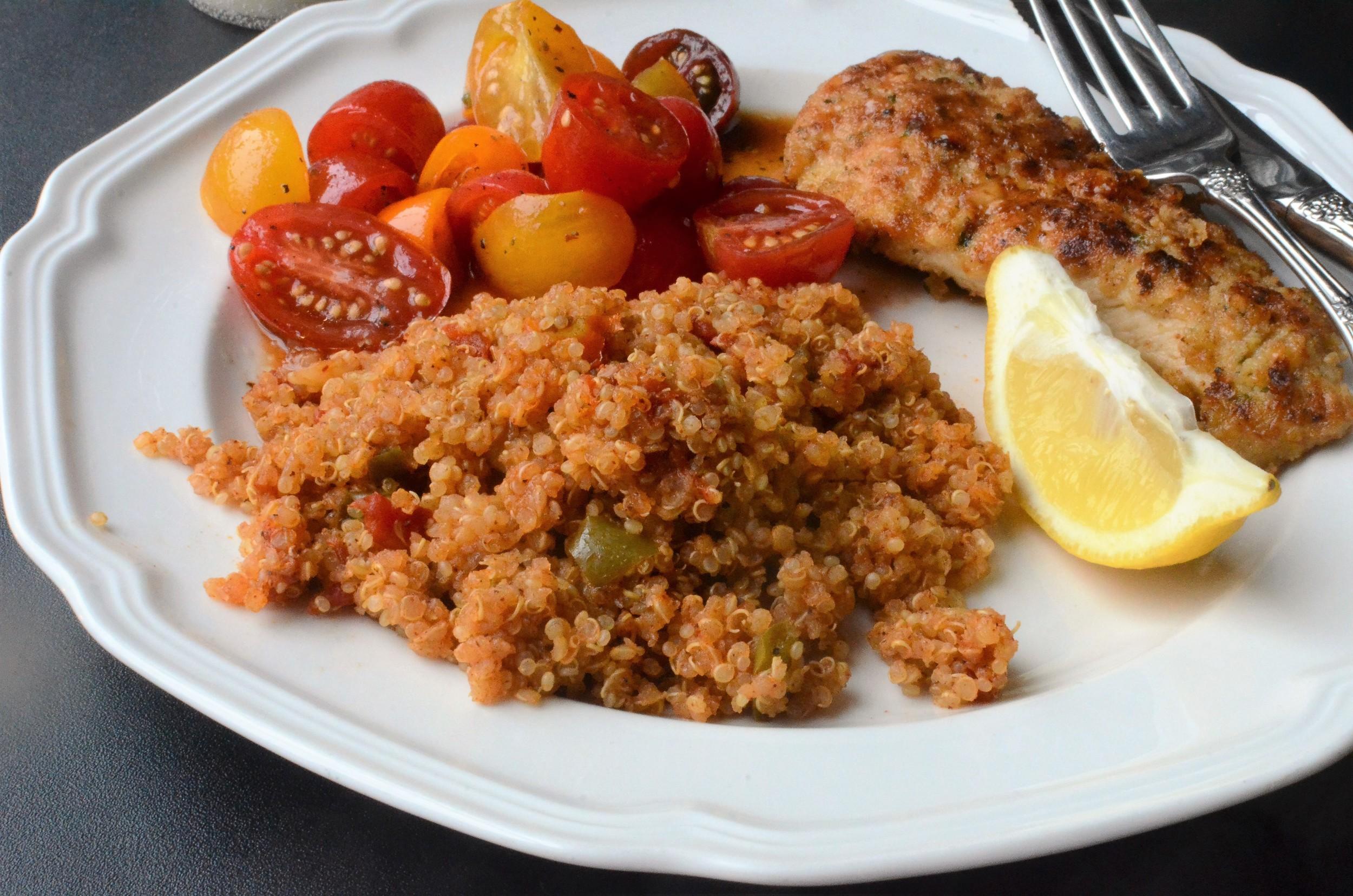 Spanish Quinoa Recipe WITH PHOTOS