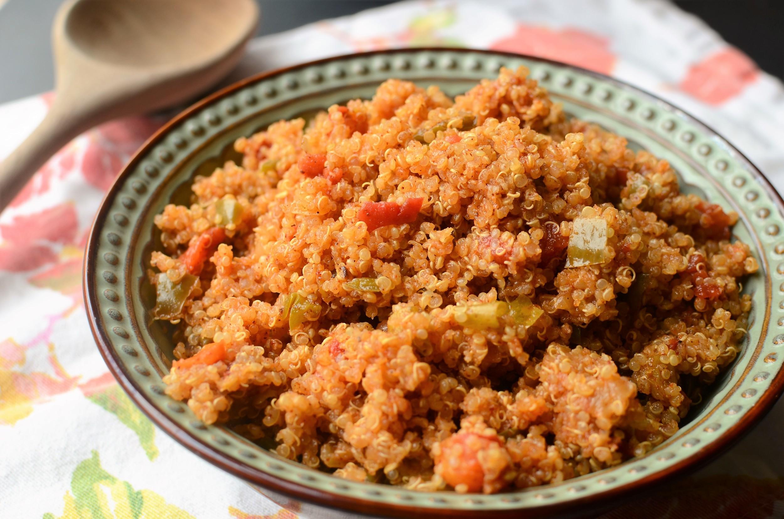 Spanish Quinoa - ButterYum